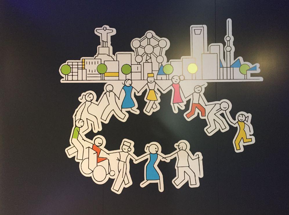 Diseño logotipo diversidad Carrefour