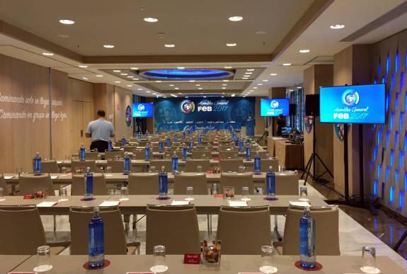 Organización evento corporativo FEDB