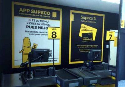 instalacion materiales supermercados