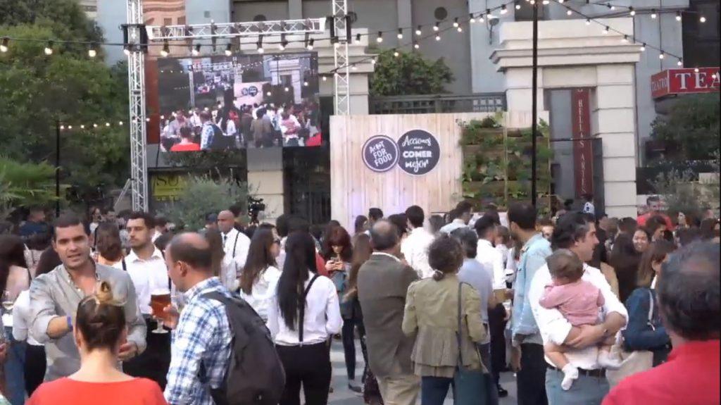 Montaje Evento Acto for food de Carrefour